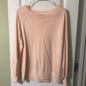 LOFT boatneck sweater SZ XL